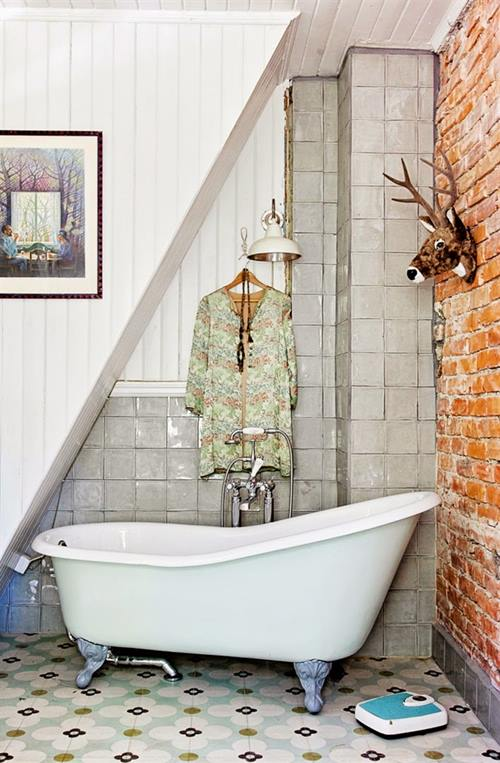 Casas con encanto decoración vintage con un punto bohemio 1