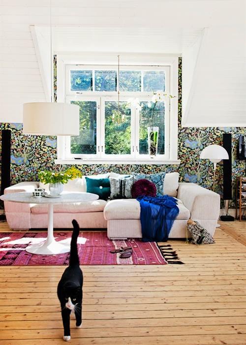 Casas con encanto decoración vintage con un punto bohemio 2