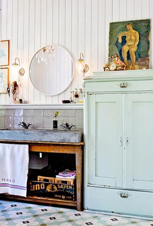 Casas con encanto decoración vintage con un punto bohemio 4