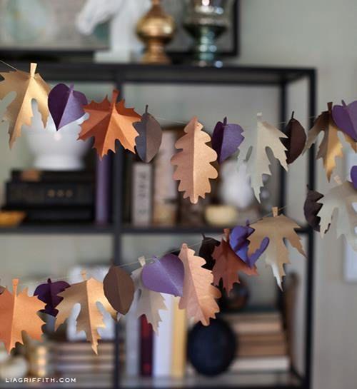 5 manualidades fáciles para decoración de otoño 1b