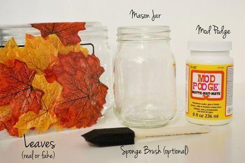 5 manualidades fáciles para decoración de otoño 2b