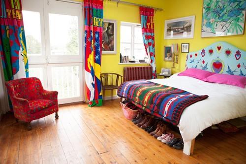 Casas con encanto crazy vintage en esta casa familiar en Dorset 5