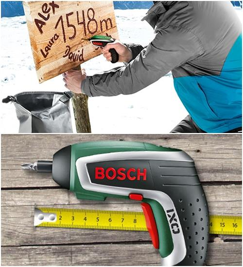 DIY decoración cúter eléctrico de Bosch 4