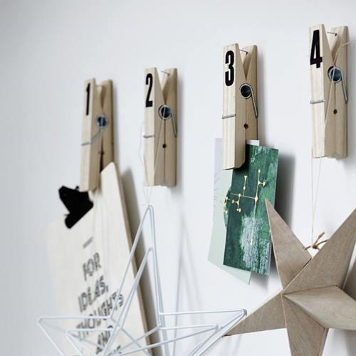 10 manualidades con pinzas de madera para decorar tu casa for Madera para colgar ganchos