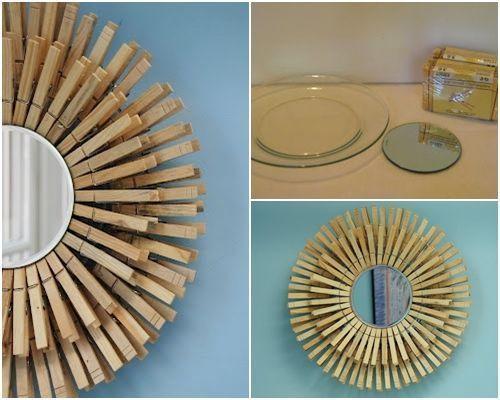 10 manualidades con pinzas de madera para decorar tu casa 13 decomanitas - Trabajo desde casa manualidades 2014 ...