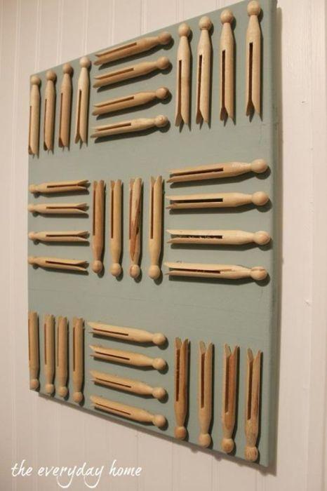 10 manualidades con pinzas de madera para decorar tu casa 5