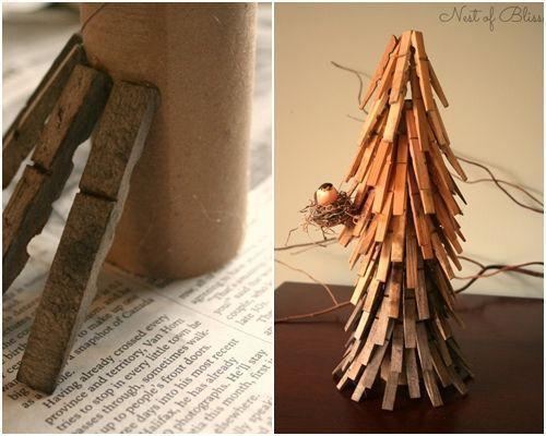 10 manualidades con pinzas de madera para decorar tu casa 9