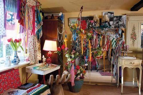 Casas con encanto decoración boho chic sin limitaciones 3