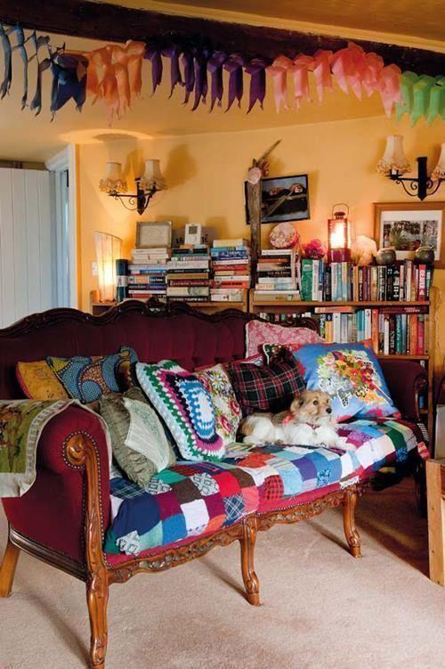 Casas con encanto decoración boho chic sin limitaciones 7