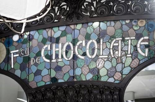 Sitios con encanto Chök, el templo del chocolate de Barcelona 1
