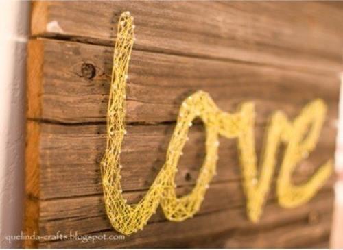 2 ideas para regalar en San Valentín hechas a mano con hilos 1