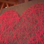 2 ideas para regalar en San Valentín hechas a mano con hilos 10