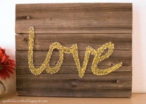 2 ideas para regalar en San Valentín hechas a mano con hilos 6