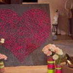 2 ideas para regalar en San Valentín hechas a mano con hilos 7