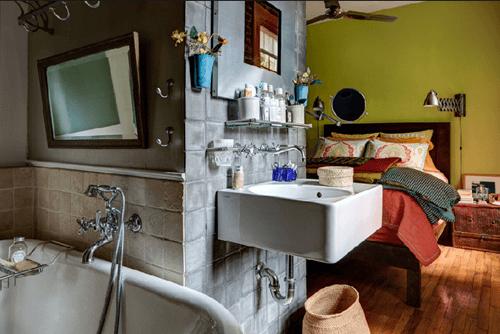 Casas con encanto un apartamento en Nueva York rústico renovado 3