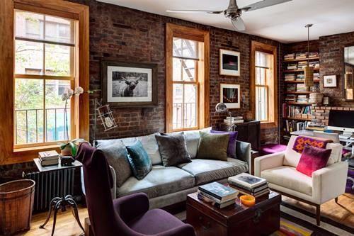Casas con encanto un apartamento en Nueva York rústico renovado 4
