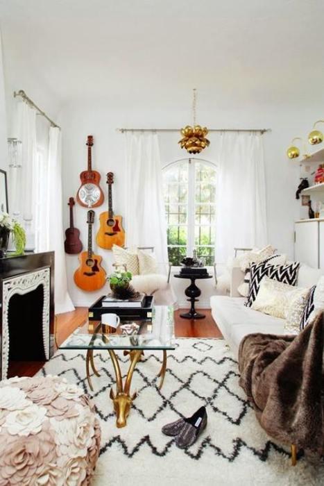 Decorar paredes con colecciones de todo lo que puedas imaginar... 11