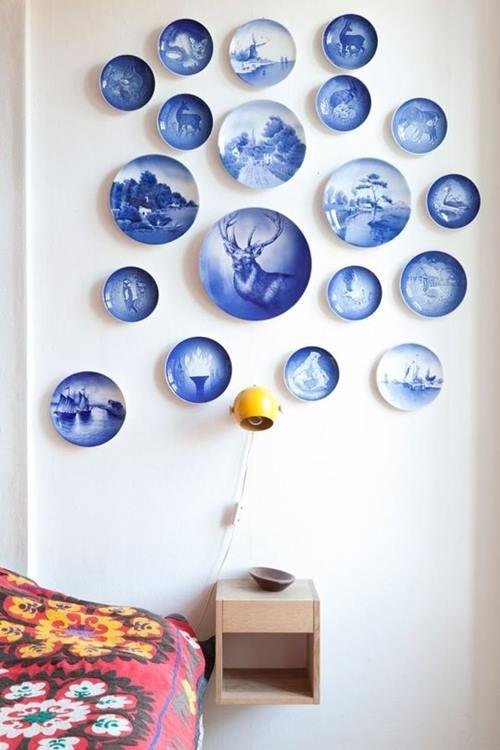 Decorar paredes con colecciones de todo lo que puedas imaginar... 2