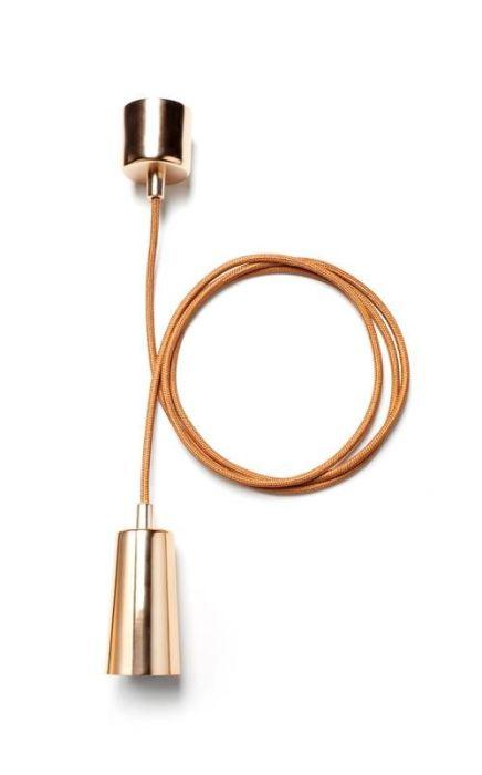 Lámparas de color cobre y otras piezas para decoracion vintage 10