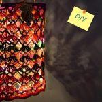 Labores de ganchillo: preciosa lámpara de crochet