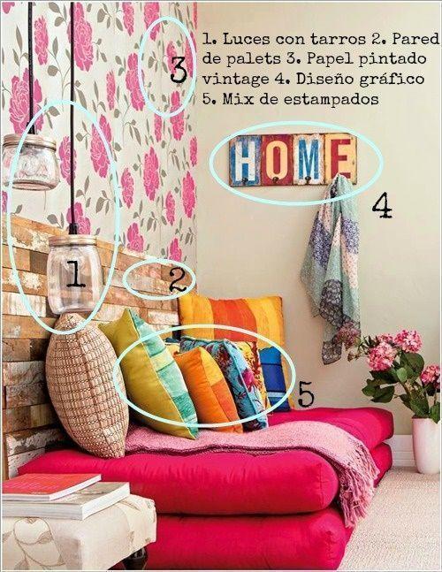 Cómo decorar salón, dormitorio y comedor con ideas tendencia 1
