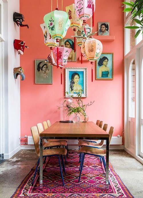 Casas con encanto decoración retro con chispa en Holanda 1