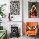 Casas con encanto decoración retro con chispa en Holanda 2
