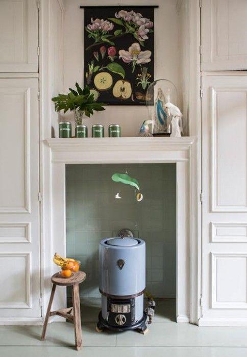 Casas con encanto decoración retro con chispa en Holanda 5