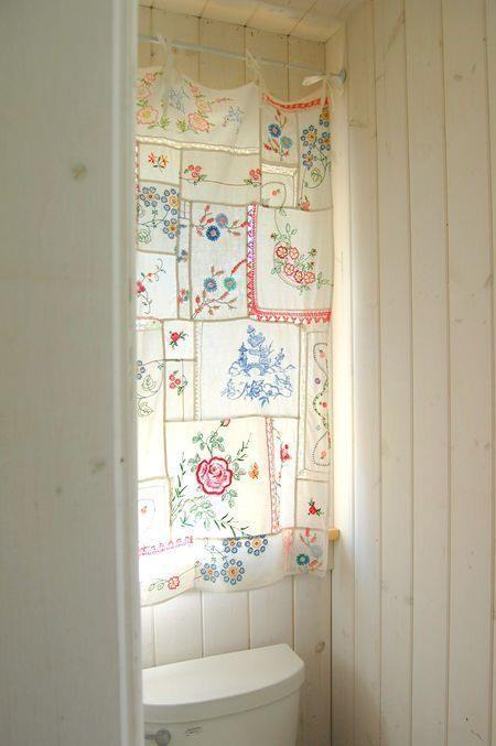 Hacer cortinas originales con pañuelos estilo boho chic 2