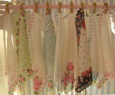Hacer cortinas originales con pauelos estilo boho chic