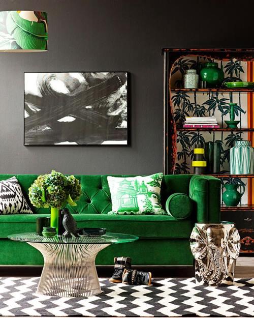 Verde esmeralda para decoración de interiores llena de misterio... 1