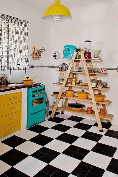 Casas con encanto decoraci n reciclada y optimista en brasil decomanitas - Decoracion vintage reciclado ...