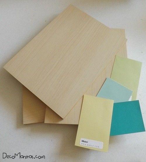 2 manualidades para decorar paredes con tablas de madera