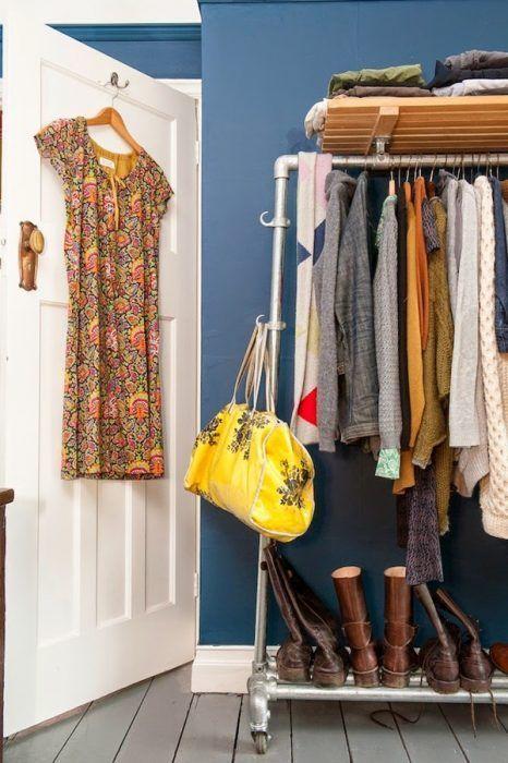 Burros para ropa los percheros a la vista 'rompen' en decoración... 2