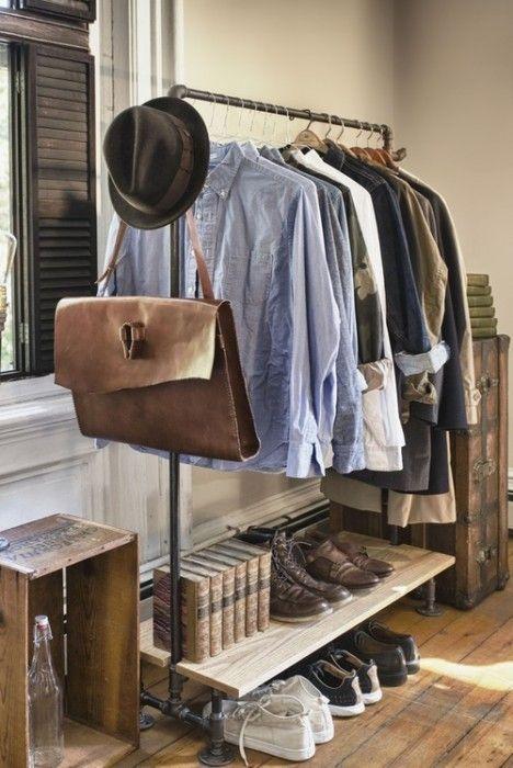 Burros para ropa los percheros a la vista 'rompen' en decoración... 5