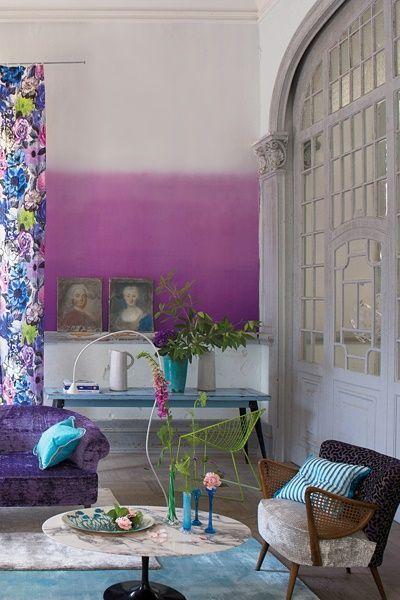 Cómo aplicar la técnica tie-dye para decorar tu casa 11