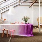 Cómo aplicar la técnica tie-dye para decorar tu casa 14