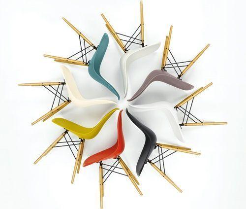 Diseños célebres silla Eames, icono del diseño de los 50s 7