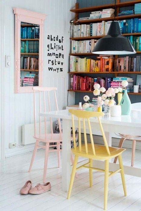 20 ideas para pintar muebles de madera antiguos a todo color 5