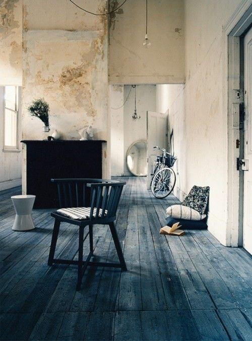 Ideas para pintar una casa paredes vintage con efecto - Pintar paredes con efectos ...