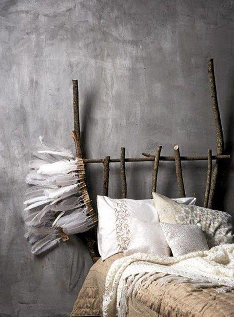 Cabeceros de cama originales estos 10 diy te for Cabeceros cama originales