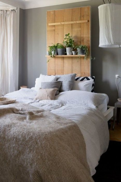 Cabeceros de cama originales estos 10 DIY te sorprenderán...! 11