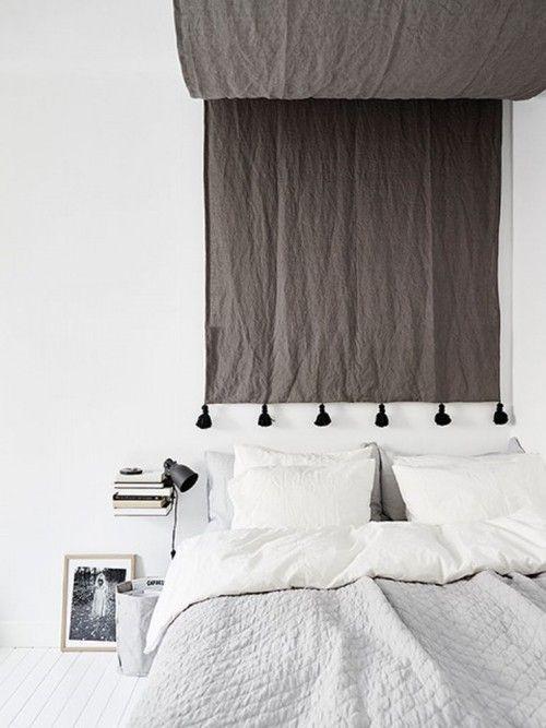 Cabeceros de cama originales estos 10 DIY te sorprenderán...! 13