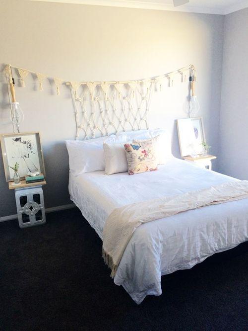 Cabeceros de cama originales estos 10 DIY te sorprenderán...! 14
