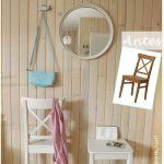 Reciclar muebles con otro uso: reciclaje creativo de una vieja silla
