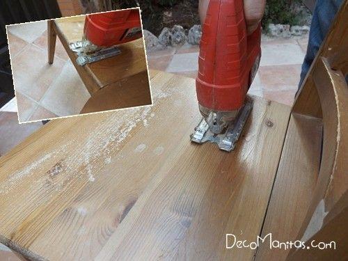 Reciclar muebles con otro uso reciclaje creativo de una vieja silla 5