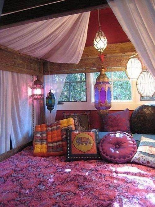 20 ideas para una decoración árabe bohemia 2