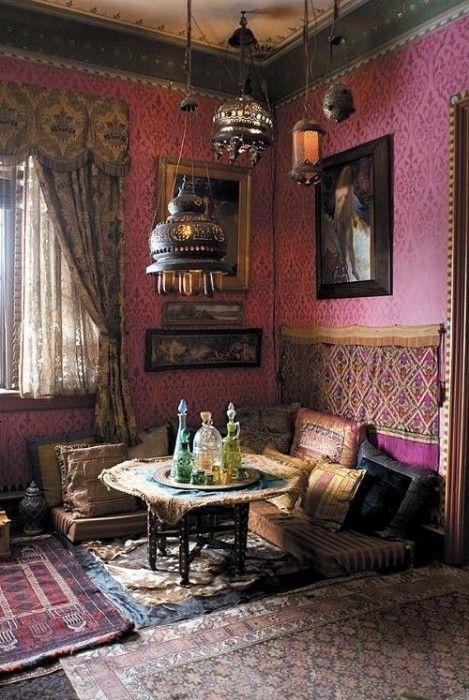 20 ideas para una decoración árabe bohemia 3