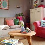 Casas con encanto: explosión de color con aire boho y escandinavo