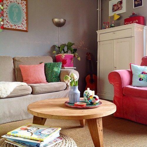 Casas con encanto colorido estilo entre boho y escandinavo 4